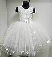 Детское праздничное нарядное бальное платье . Возраст 4-5 лет.