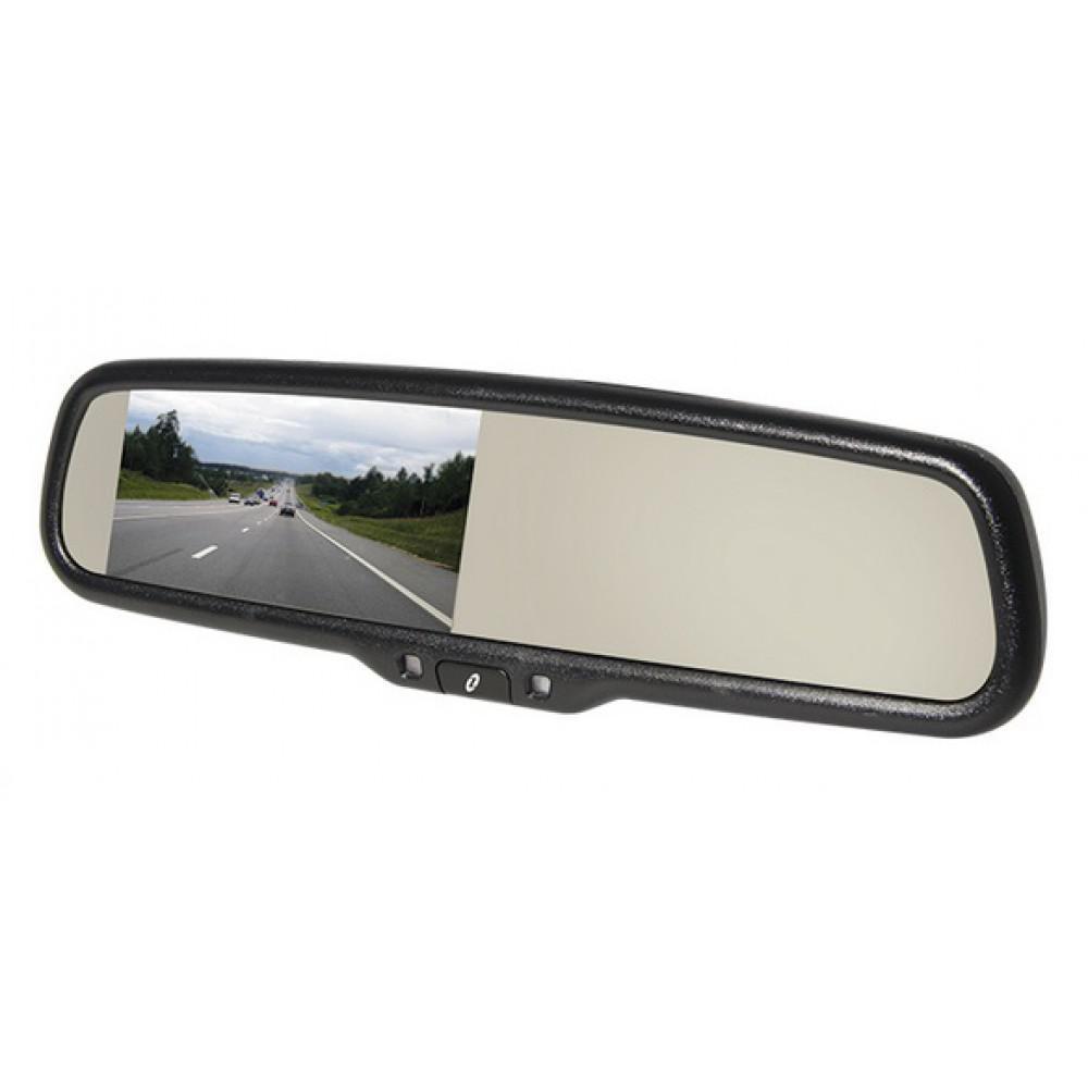 Зеркало заднего вида со встроенным Super HD видеорегистратором Gazer MMR7103