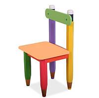 """Стілець дитячий """"Олівці"""" колір будь сидіння"""
