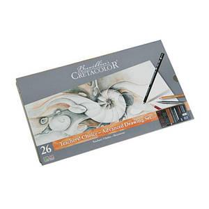 """Набор карандашей для рисунка """"Teacher's choice"""", 27 предметов., металлическая коробка, Cretacolor"""