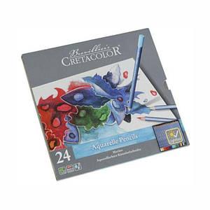 Набор акварельных карандашей, MARINO, 24шт., мет. упаковка, Cretacolor