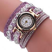 Женские часы Versace light-purple