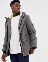 Парка\куртка D-Struct - Lufta Cерая с меховой отделкой (мужская/чоловіча) Зима