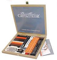 Набор карандашей для рисунка Passion Box, 25 шт,  дер. упаковка, Cretacolor