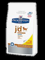 Hills Diet j/d лечебный корм для взрослых собак с артритами