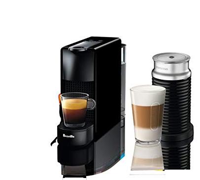 Кофемашина Essenza Mini і Aeroccino 3
