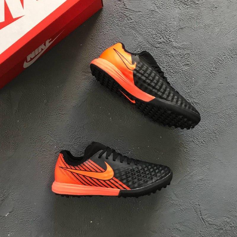 2120b2b3 Купить Сороконожки Nike Magista Onda II Black-Orange в Киеве от ...