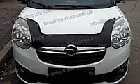 Дефлектор капота Opel Combo D с 2011 г.в. (Опель Комбо Д) Vip Tuning