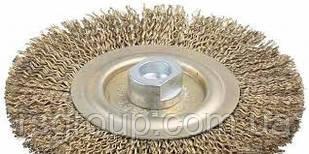 Щетка дисковая из рифленой проволоки (YDM9004) 125 X 22