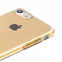 Чехол Baseus iPhone 7/8 Simple Cleare (Gold)
