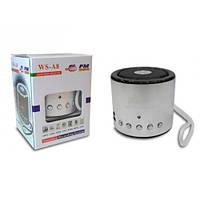 Портативна Bluetooth колонка  WSTER A8 з MP3 і FM pадіо