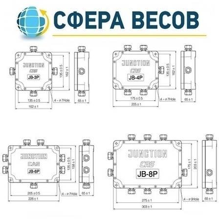 Соединительные коробки CAS JB-3P, фото 2