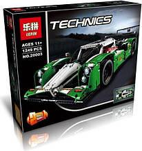 """Конструктор Lepin Technicain 20003 (аналог Lego Technic 42039) """"Гоночный автомобиль""""  1249 деталей"""