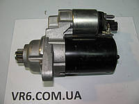 Стартер VW Golf V/VI, Touran, Caddy, T5 1.4-2.0TFSI/ 1,9-2.0TDI 02T911023M
