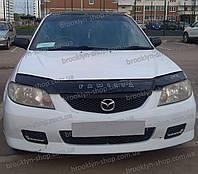 Дефлектор капота Mazda Familia с 2000–2003 г.в (Мазда Фамилиа) Vip Tuning