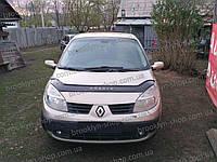Дефлектор капота Renault Scenic (II) с 2003–2009 г.в. (Рено Сценик) Vip Tuning