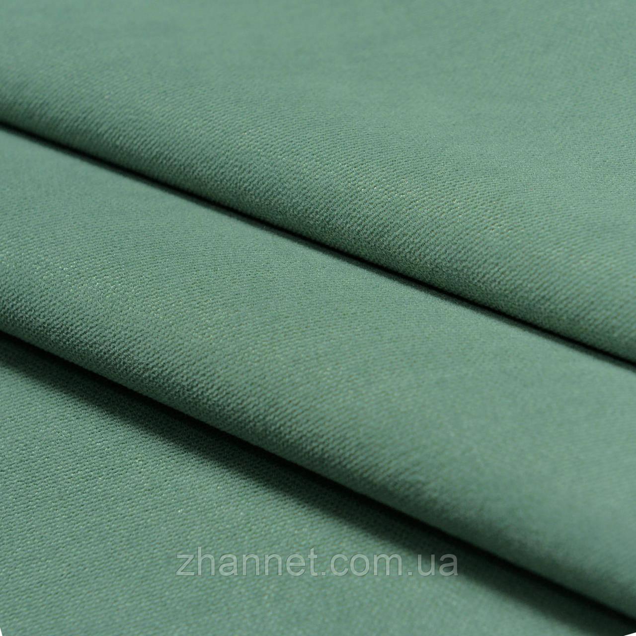 Ткань для штор Diamond морская зелень 295 см (1403208)