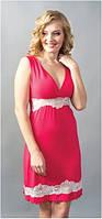 Сорочка Shato - 602 (женская одежда для сна, дома и отдыха, домашняя одежда, ночная рубашка)