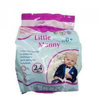Пральний порошок для прання дитячої білизни Little Manny 2,4кг (4820138320452)