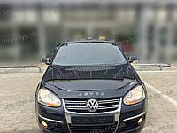 Мухобойка +на капот  VW Jetta V с 2005–2010 г.в. (Фольксваген Джетта) Vip Tuning