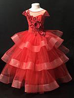 """Пышное выпускное бальное платье  для девочки """"Катрин"""", фото 1"""