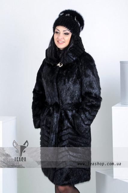 Женская зимняя шуба под норку, купить онлайн