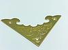 Декор угловой летучая мышь 40х40 мм