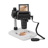 "Цифровой микроскоп SIGETA Superior 10-220x 2.4"" LCD 1080P HDMI/USB/TV"