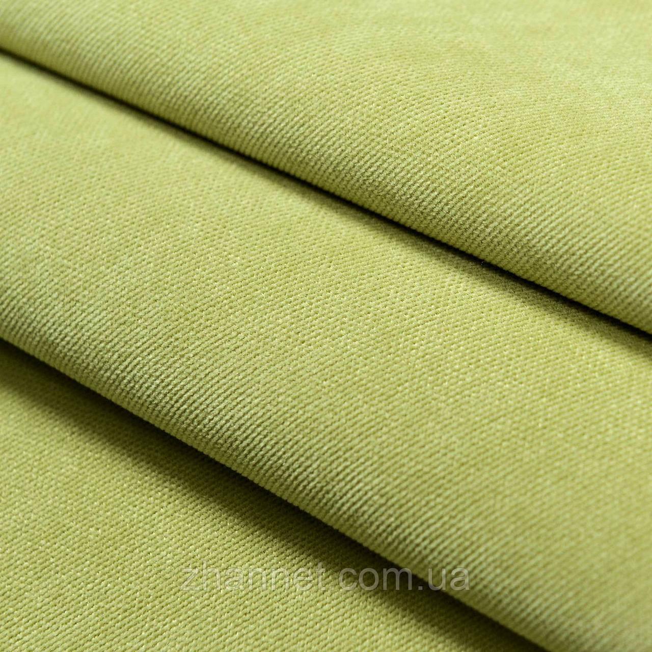 Тканина для штор Diamond оливковий 295 см (1403107)