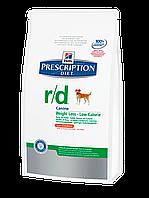 Hills Diet r/d лечебный сухой корм для собак с проблемами лишнего веса