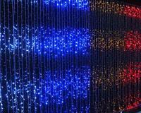 """Гирлянда светодиодная """"Водопад"""" 320 ламп(LED), уличная, цвета в ассортименте"""