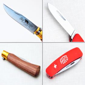 Туристические и рыболовные ножи