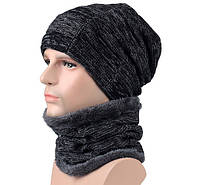 Шапка с шарфом для зимних видов спорта. Варианты цветов, фото 1