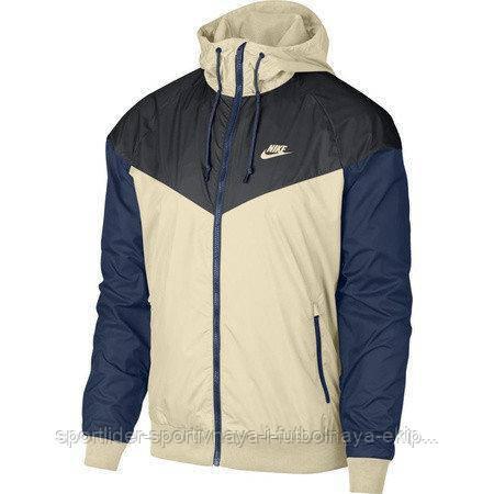 d25dbbbd Куртка мужская Nike Sportswear Men's Windrunner Jacket Hoodie 727324-258 -  Sport-Leader в