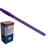 Ручка кулькова LEADERCello555фіол...