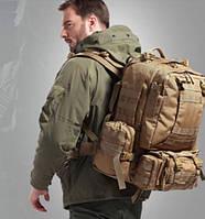 Большой тактический комбинированный военный рюкзак 50 литров, фото 1