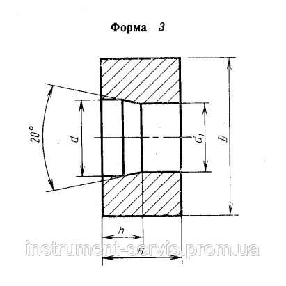 Вставка-заготовка твердосплавная 1010-0851 ВК10