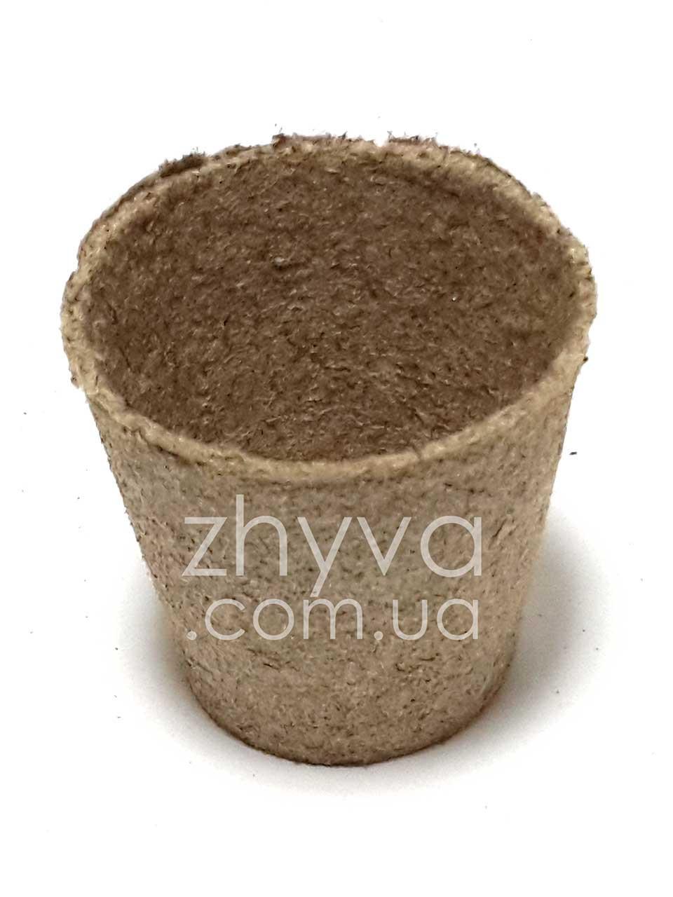 Торф'яні горщики для розсади Jiffy Pot 6х6см / Торфяной стакан для рассады