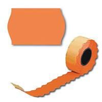 Ценники фигурка 6 метров, 6шт / туб. оранжевый, А12 (26 * 12) ш.к.4822612240607