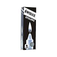 Свічка столова Swiece Stolowe 6  шт в упаковці