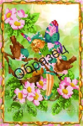 Схема для вишивки бісером «Весняний ельф»