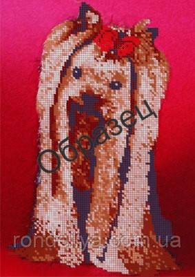 Вышивка бисером йорки