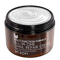 Крем для лица с экстрактом улитки Mizon Snail Repair Cream 120 ml, фото 1