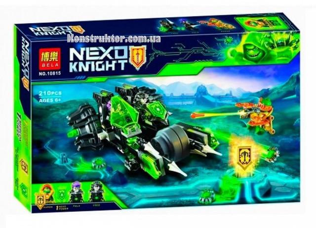 """Конструктор Bela 10815 """"Боевая машина близнецов"""" Нексо Найтс, 210 деталей. Аналог Lego Nexo Knights 72002"""