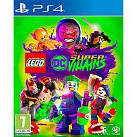 Игра LEGO DC Super-Villains для Sony PS 4 (русские субтитры)