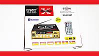 Усилитель звука UKC SN-003BT FM USB Блютуз + Караоке, фото 1
