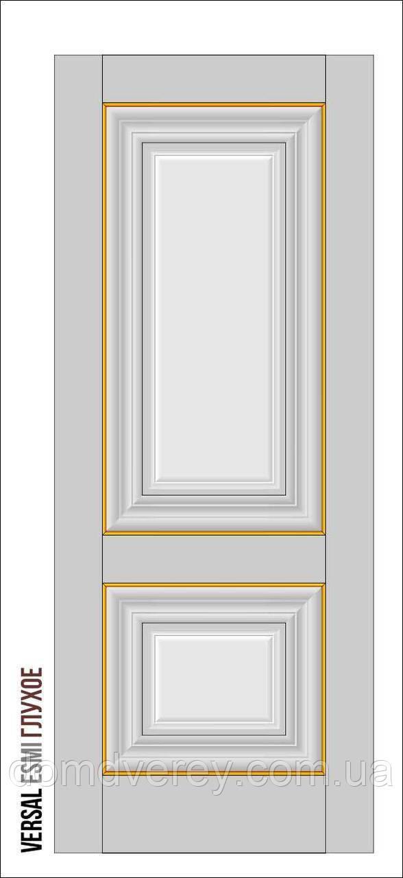 Двери межкомнатные, Родос, Versal, Esmi, глухое, middle molding