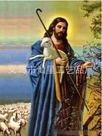 """Алмазная вышивка """"Иисус пастырь"""""""