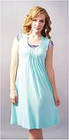 Сорочка Shato - 603 (женская одежда для сна, дома и отдыха, домашняя одежда, ночная рубашка)