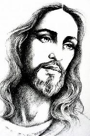 """Набор алмазной вышивки (мозаики) икона """"Иисус Христос"""""""